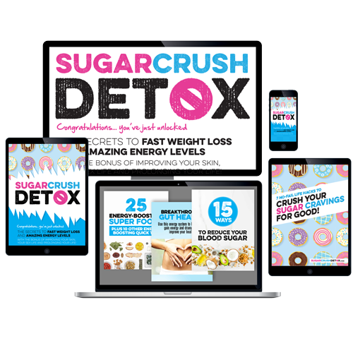 Sugar Crush Detox - Secret To Fast Weight Loss